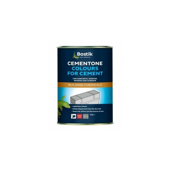 Cementone Colours For Cement 1kg Red Brick